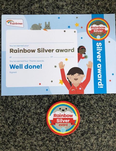 Rainbows Silver Award
