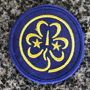 WAGGGS Woven $1.50