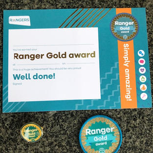 Ranger Gold Award