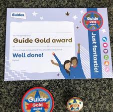Guide Gold Award
