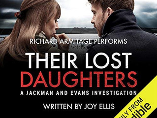 Their Lost Daughters by Joy Ellis (Audible Audiobook narrated by Richard Armitage)