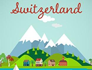 A Lake in Switzerland by Melinda Huber