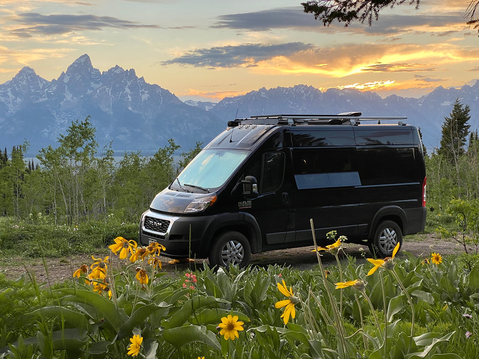 RAM ProMaster 136 high roof conversion ProMaster camper conversion