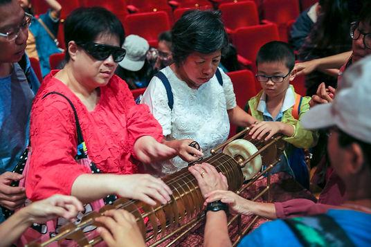 Talk for visually impaired, Hong Kong