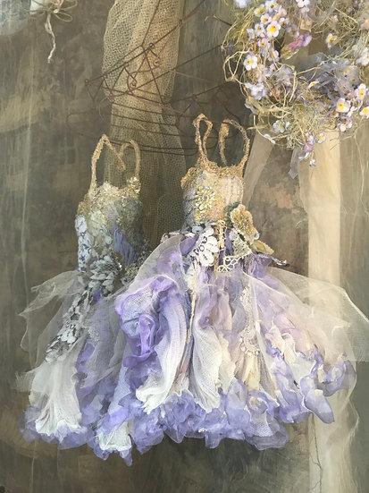 Doll dress in lavender t<予約販売>