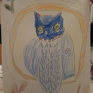 Бажена 6 лет, Молчаливый совёнок