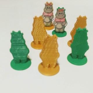 Бегемоти фигурки для настольных игр