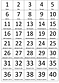 74. Бегемоти и мост (игра) числа от 1 до