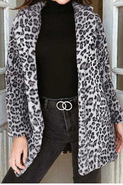 Vera Leopard Coat