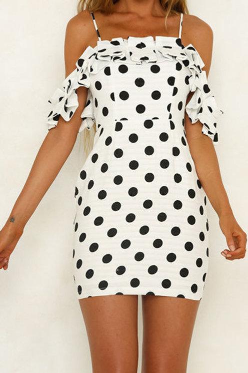 Mimi Polka Dot Dress