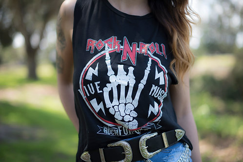 Rock n Rose Sleeveless Tee