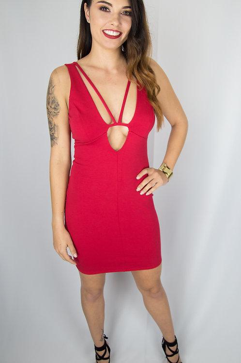 Caged Monica Dress