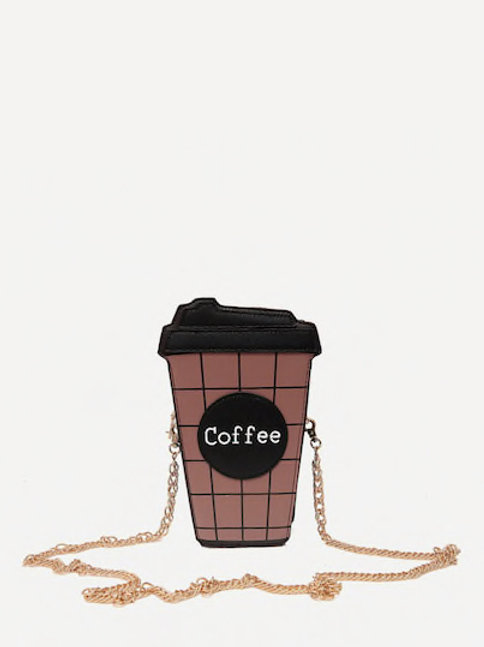 Coffee Bottle Chain Bag