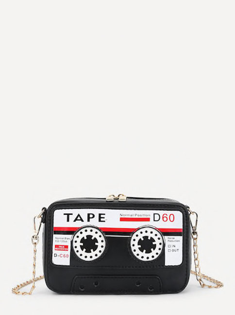 Tape Cross Body Bag