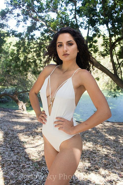 Krista Ivory Bodysuit