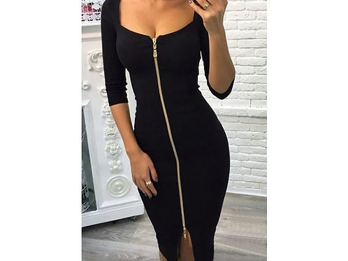 Gaby Zip-up Dress