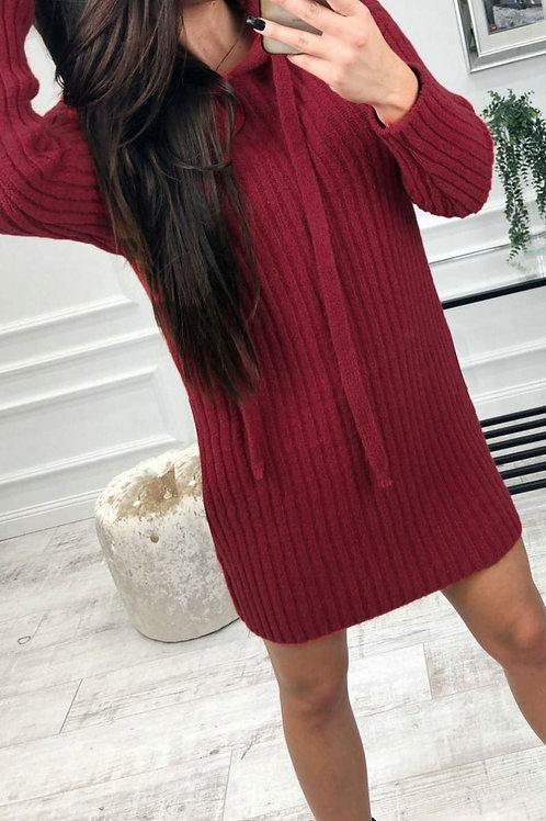 Maggy Hooded Mini Dress