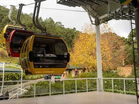 Bondinhos aéreos Parques da Serra