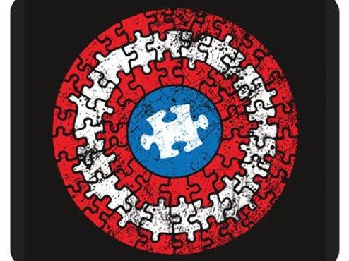 Captain America Puzzle Mousepad