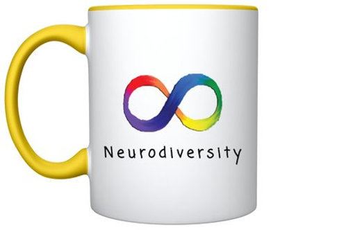 (Yellow) Neurodiversity Mug