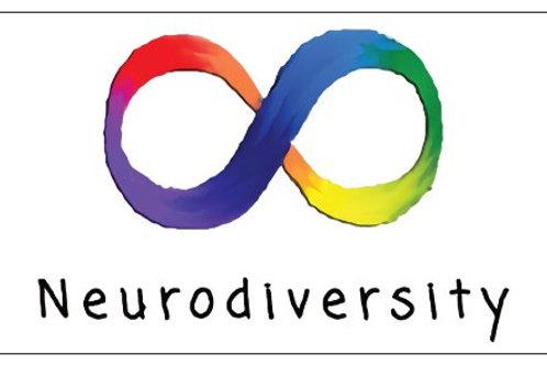 Neurdiversity Fridge Magnet
