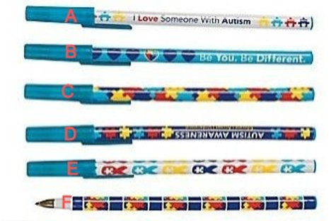 Autism Awareness Pens