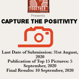 Capture the Positivity Competition by Together WCWW
