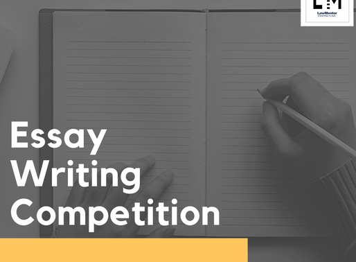 Essay Writing Competition by Dr. Adish Aggarwala Law Chambers and Savera: Free: Register by August 1