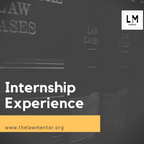 INTERNSHIP EXPERIENCE @ LAW OFFICE OF MR. ASHWANI K DUBEY SUPREME COURT OF INDIA