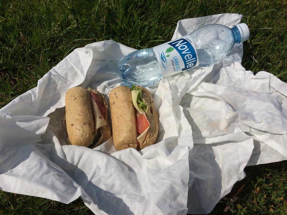 自作サンドイッチ