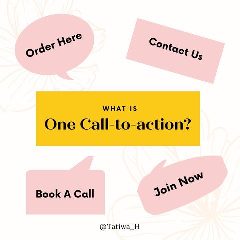 "What is and how to use a ""Call-to-Action"" button?"
