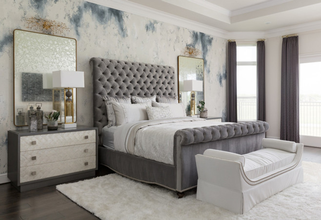 Faux Finished Bedroom