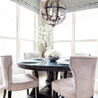 Transitional Breakfast Room