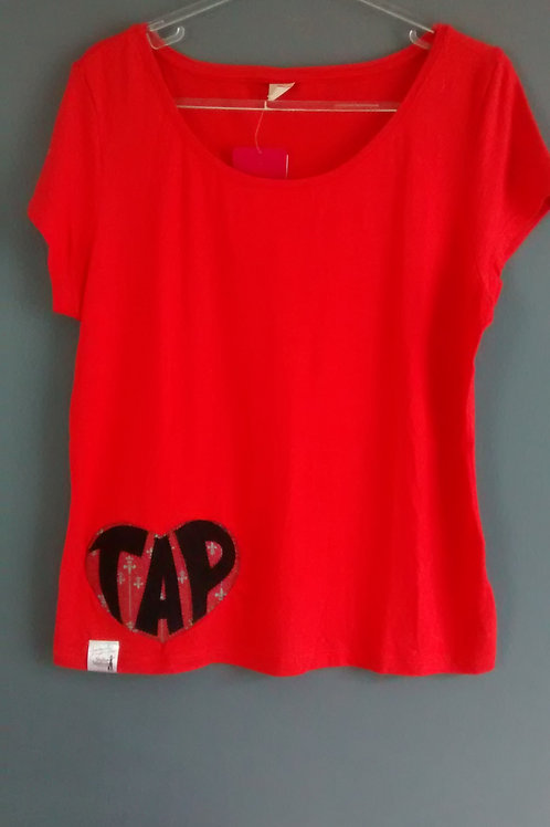 Blusa Tap Vermelha