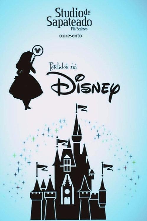 DVD Espetáculo Perdidos na Disney