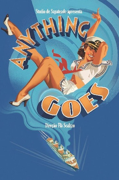 DVD Espetáculo Anything Goes
