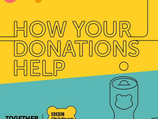 BBC Children in Need radio interview