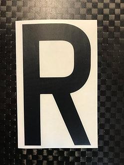 Lettrage R