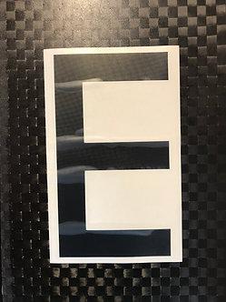 Lettrage E