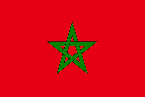 Pavillon Maroc 20x30cm