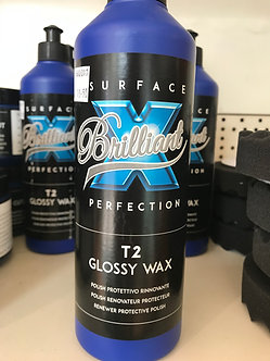 Polish T2 Glossy Wax  : polish rénovateur protecteur pour gelcoats.