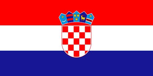 Pavillon Croatie 30x45cm