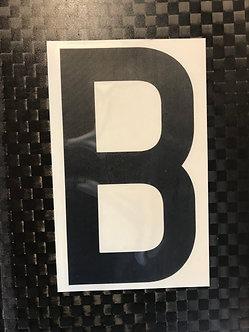 Lettrage B
