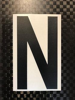 Lettrage N