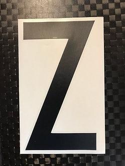 Lettrage Z
