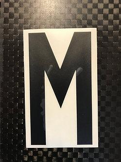 Lettrage M
