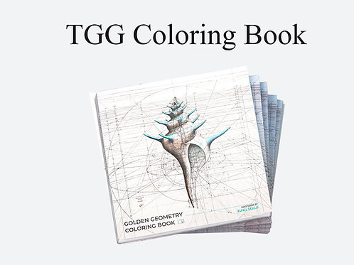 The Golden Geometry Coloring Book (Signed)