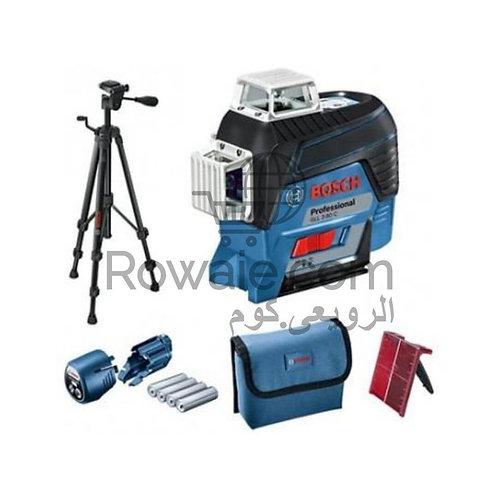 Bosch GLL 3-80 C 3 Line Laser | ميزان شيرب ليزر 3 خط
