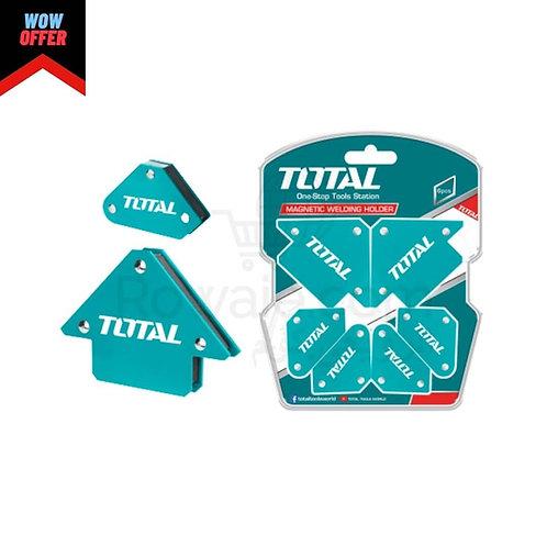 Total TAMWH6002 Magnetic Welding Support Set 6pcs | طقم زاوية لحام مغناطيس 6 قطع