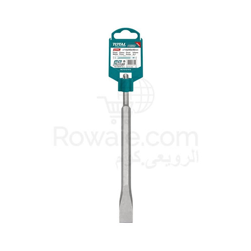 TOTAL TAC15121411 CHISEL SDS PLUS 20mm | بنطة هلتى أجنة مبططة